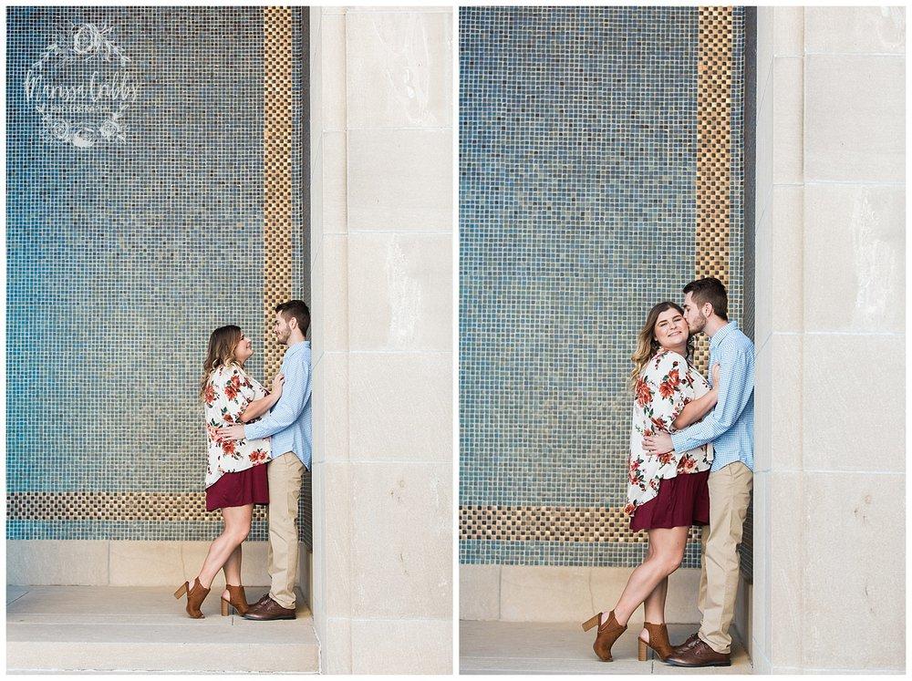 Dani & Michael | Liberty Memorial Engagement Photos | Marissa Cribbs Photography | KC Wedding Photographers_0975.jpg