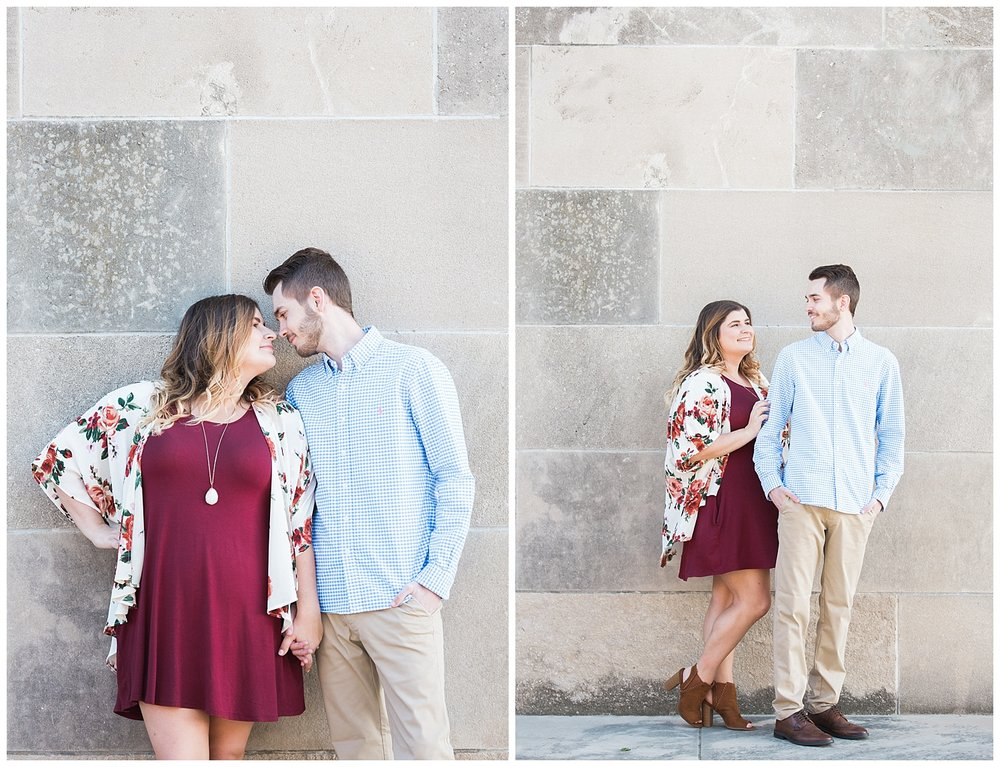 Dani & Michael | Liberty Memorial Engagement Photos | Marissa Cribbs Photography | KC Wedding Photographers_0978.jpg