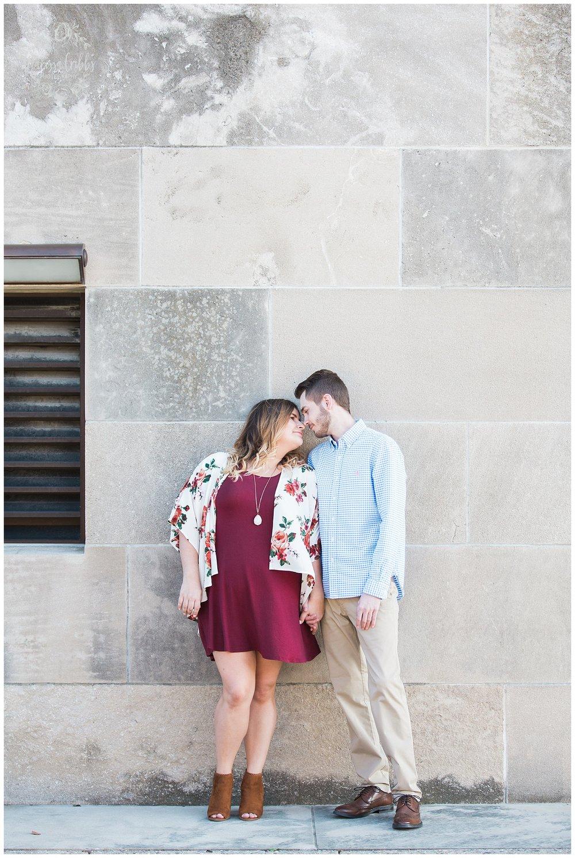 Dani & Michael | Liberty Memorial Engagement Photos | Marissa Cribbs Photography | KC Wedding Photographers_0979.jpg