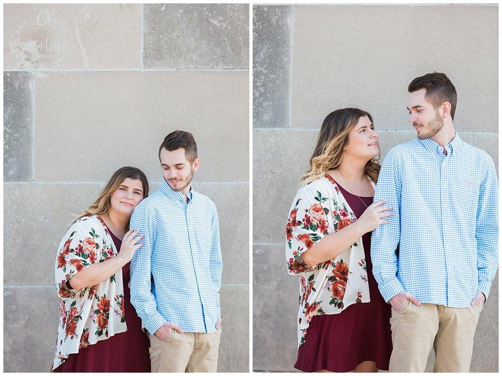 Dani & Michael | Liberty Memorial Engagement Photos | Marissa Cribbs Photography | KC Wedding Photographers_0981.jpg