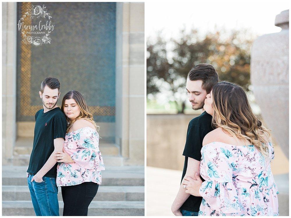 Dani & Michael | Liberty Memorial Engagement Photos | Marissa Cribbs Photography | KC Wedding Photographers_0984.jpg