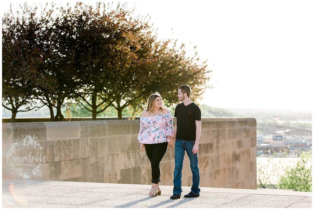 Dani & Michael | Liberty Memorial Engagement Photos | Marissa Cribbs Photography | KC Wedding Photographers_0985.jpg