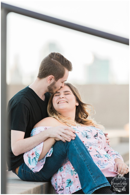 Dani & Michael | Liberty Memorial Engagement Photos | Marissa Cribbs Photography | KC Wedding Photographers_0988.jpg