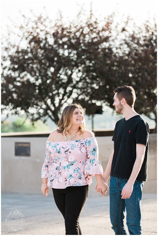 Dani & Michael | Liberty Memorial Engagement Photos | Marissa Cribbs Photography | KC Wedding Photographers_0987.jpg