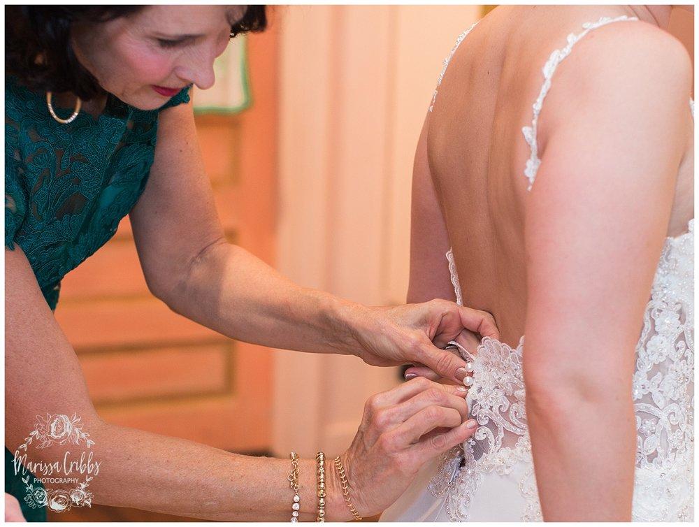 Bride & The Bauer Wedding | Hannah & Jeff | KC Wedding Photographers | Rainy Wedding Photos KC | Marissa Cribbs Photography_1010.jpg