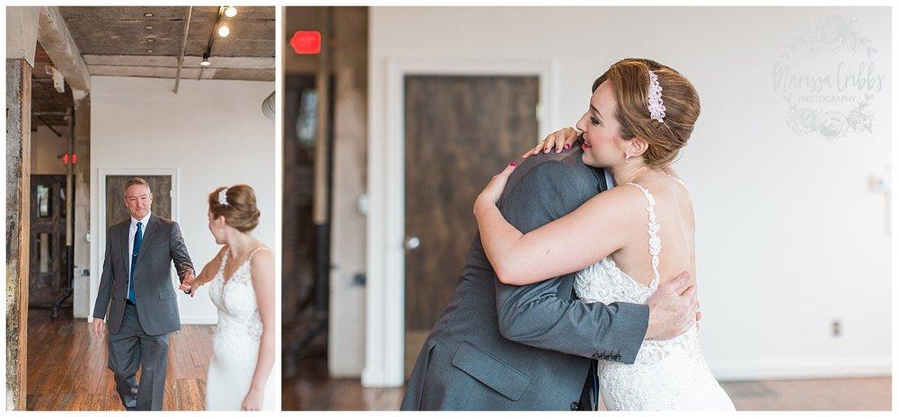 Bride & The Bauer Wedding | Hannah & Jeff | KC Wedding Photographers | Rainy Wedding Photos KC | Marissa Cribbs Photography_1028.jpg