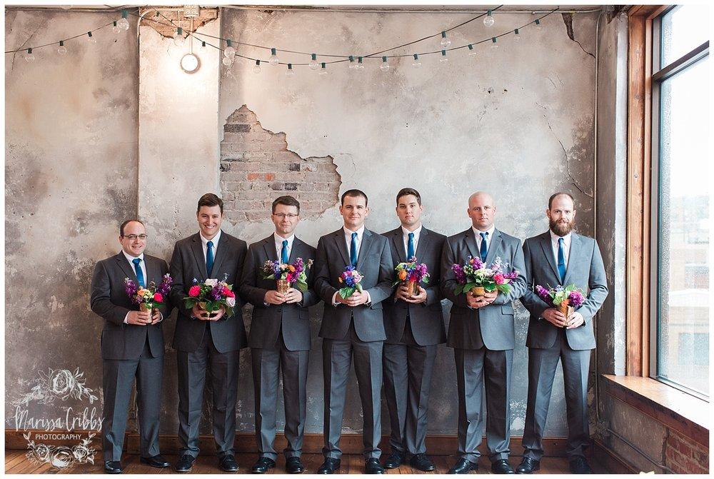 Bride & The Bauer Wedding | Hannah & Jeff | KC Wedding Photographers | Rainy Wedding Photos KC | Marissa Cribbs Photography_1057.jpg