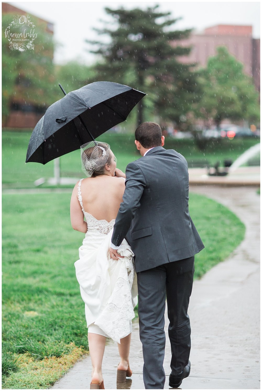 Bride & The Bauer Wedding | Hannah & Jeff | KC Wedding Photographers | Rainy Wedding Photos KC | Marissa Cribbs Photography_1083.jpg