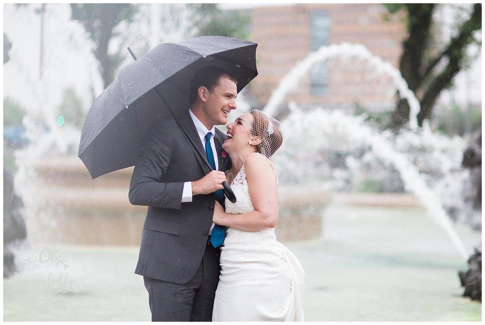 Bride & The Bauer Wedding | Hannah & Jeff | KC Wedding Photographers | Rainy Wedding Photos KC | Marissa Cribbs Photography_1086.jpg