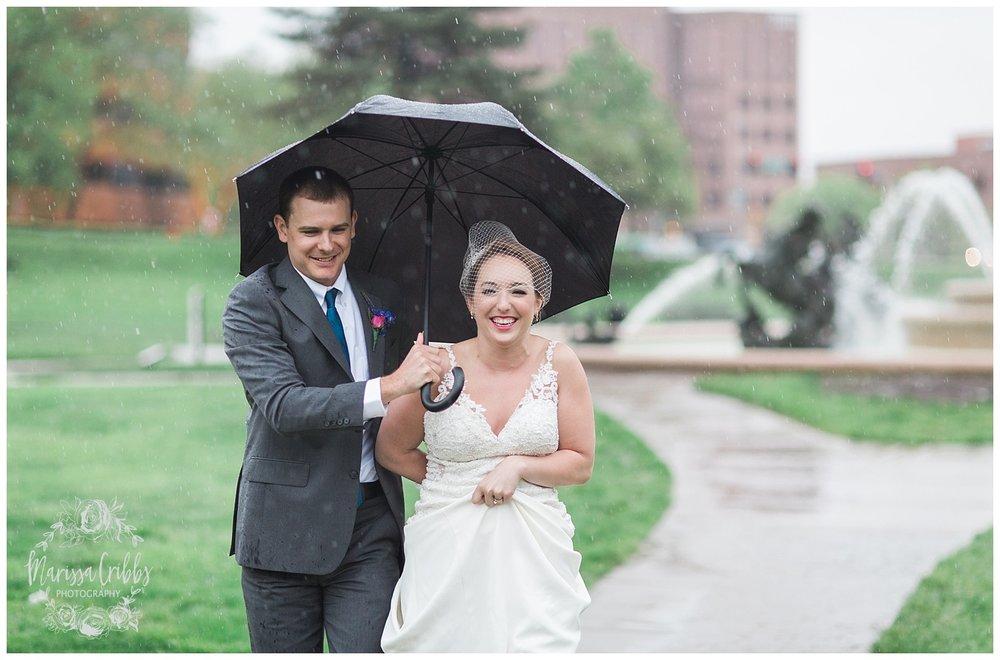 Bride & The Bauer Wedding | Hannah & Jeff | KC Wedding Photographers | Rainy Wedding Photos KC | Marissa Cribbs Photography_1091.jpg