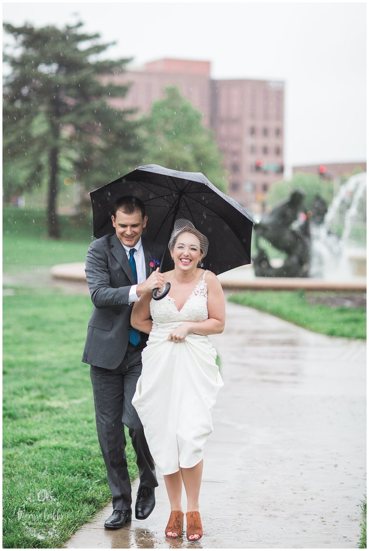Bride & The Bauer Wedding | Hannah & Jeff | KC Wedding Photographers | Rainy Wedding Photos KC | Marissa Cribbs Photography_1090.jpg