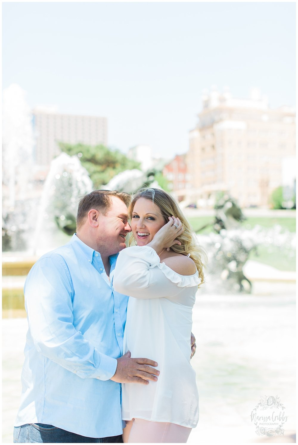 Kristen and Scott | Kansas City Plaza and Loose Park Engagement Photography | Marissa Cribbs Photography_1143.jpg