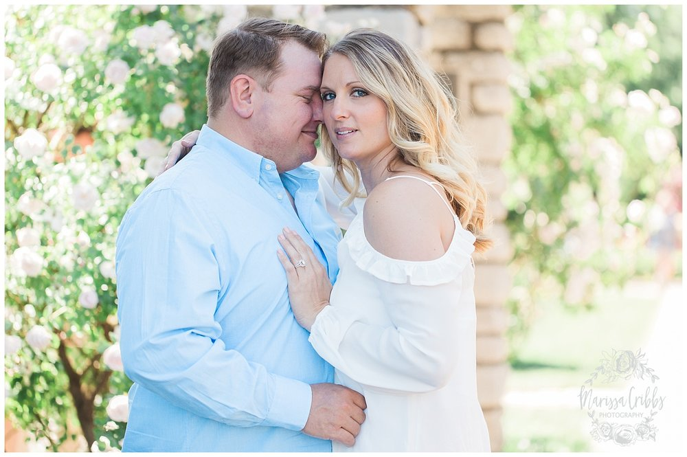 Kristen and Scott | Kansas City Plaza and Loose Park Engagement Photography | Marissa Cribbs Photography_1145.jpg