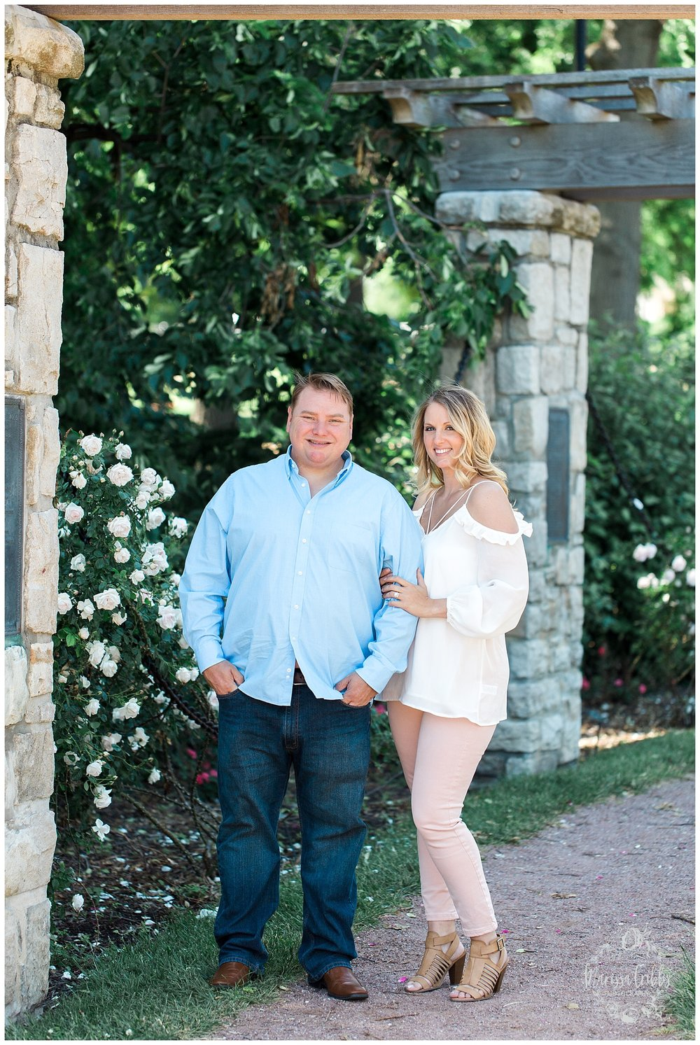 Kristen and Scott | Kansas City Plaza and Loose Park Engagement Photography | Marissa Cribbs Photography_1147.jpg