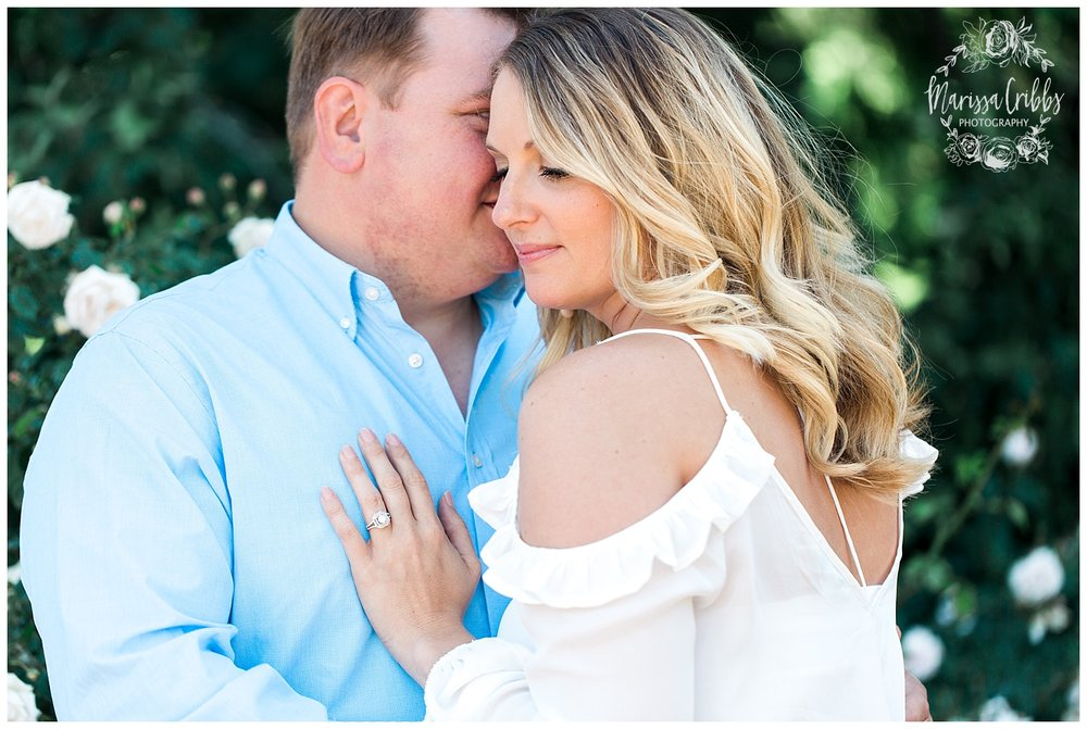Kristen and Scott | Kansas City Plaza and Loose Park Engagement Photography | Marissa Cribbs Photography_1150.jpg