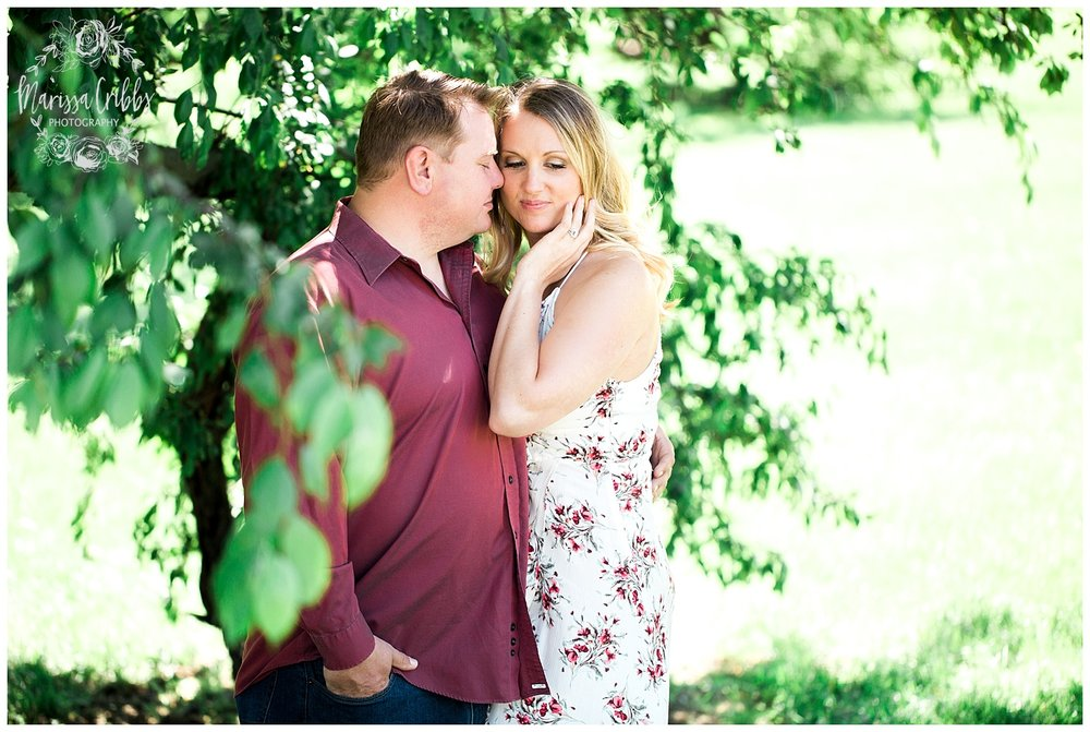Kristen and Scott | Kansas City Plaza and Loose Park Engagement Photography | Marissa Cribbs Photography_1157.jpg