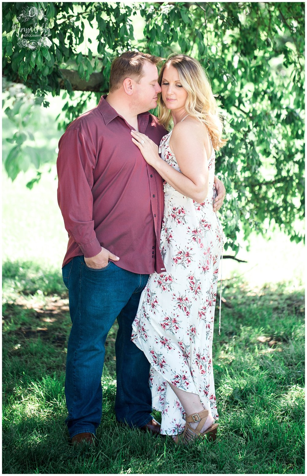 Kristen and Scott | Kansas City Plaza and Loose Park Engagement Photography | Marissa Cribbs Photography_1158.jpg