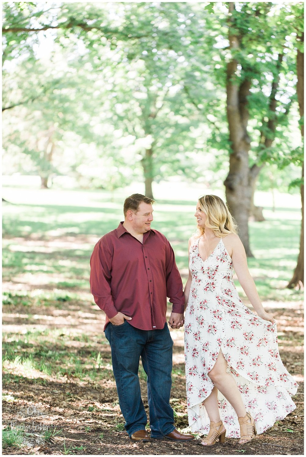 Kristen and Scott | Kansas City Plaza and Loose Park Engagement Photography | Marissa Cribbs Photography_1160.jpg