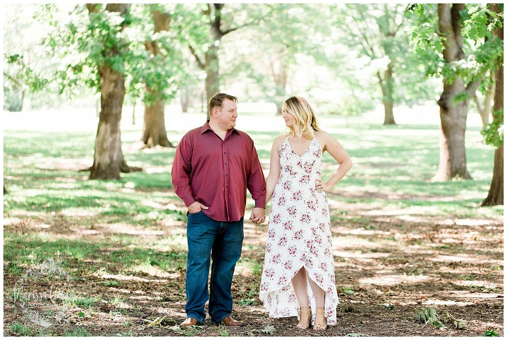 Kristen and Scott | Kansas City Plaza and Loose Park Engagement Photography | Marissa Cribbs Photography_1163.jpg