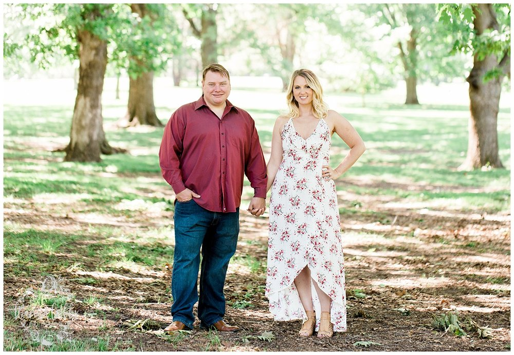 Kristen and Scott | Kansas City Plaza and Loose Park Engagement Photography | Marissa Cribbs Photography_1164.jpg