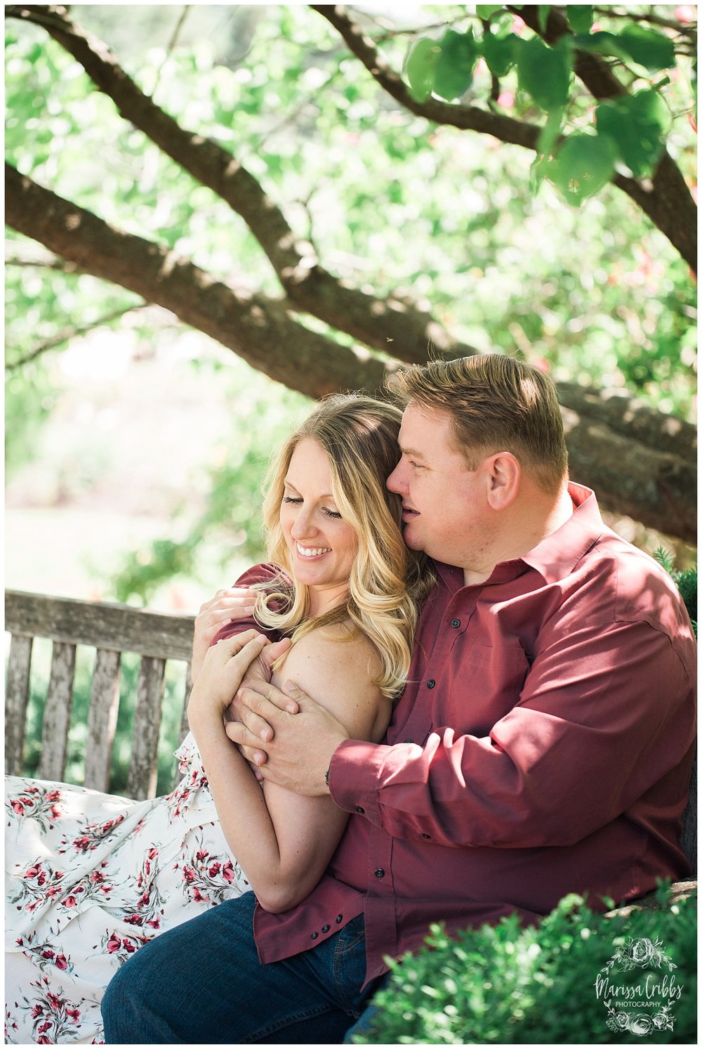 Kristen and Scott | Kansas City Plaza and Loose Park Engagement Photography | Marissa Cribbs Photography_1167.jpg