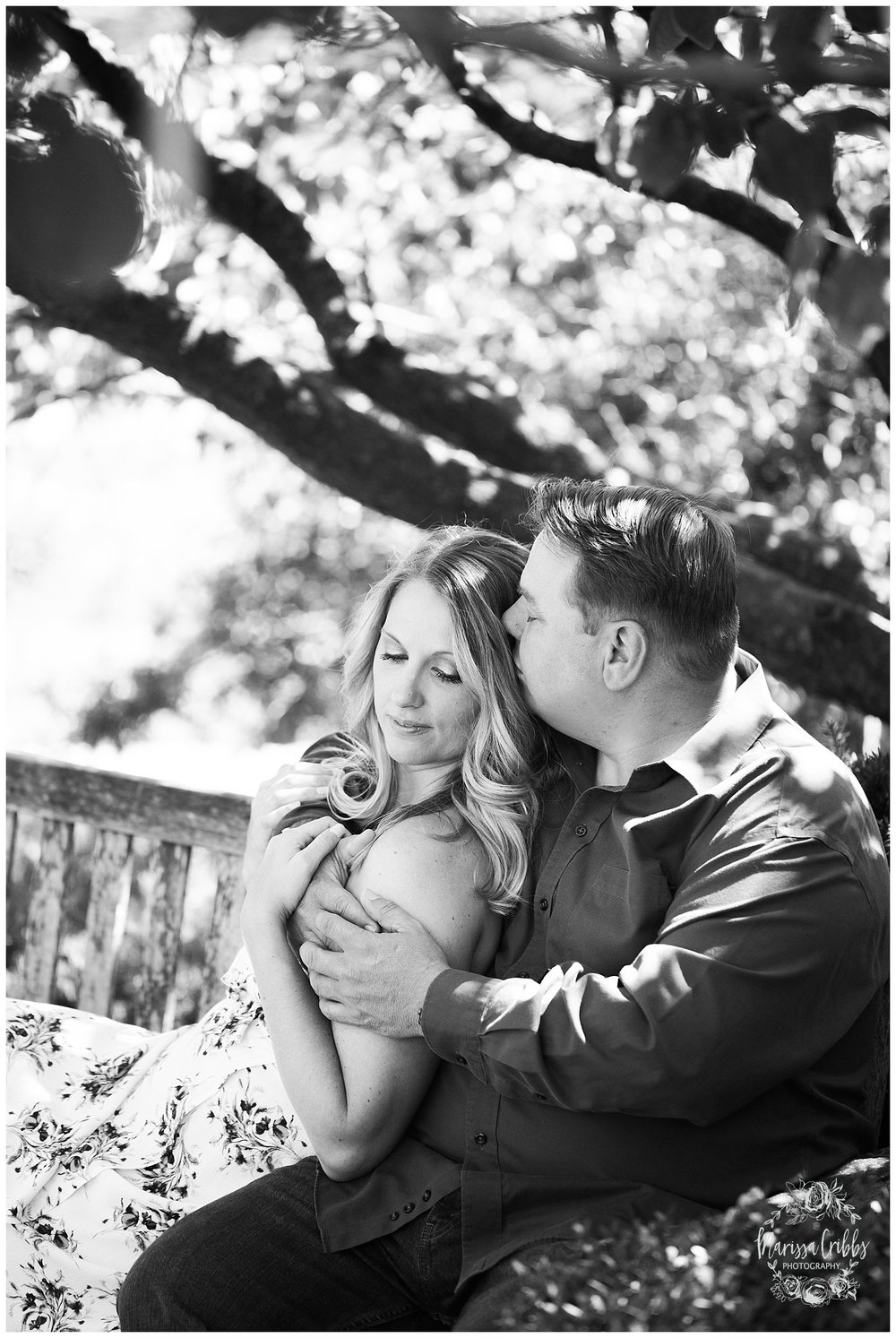 Kristen and Scott | Kansas City Plaza and Loose Park Engagement Photography | Marissa Cribbs Photography_1168.jpg