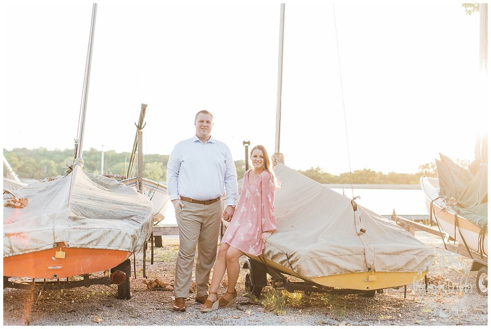 Morgan & Ryan Engaged | Lake Quivira Engagement Photography | Marissa Cribbs Photography_1550.jpg