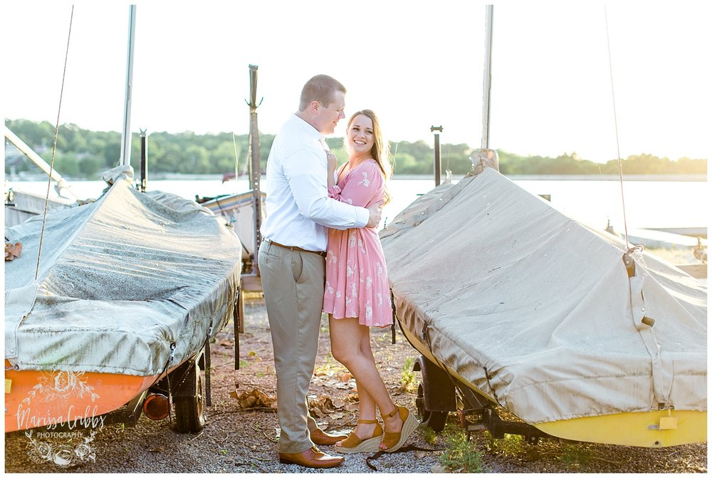 Morgan & Ryan Engaged | Lake Quivira Engagement Photography | Marissa Cribbs Photography_1552.jpg