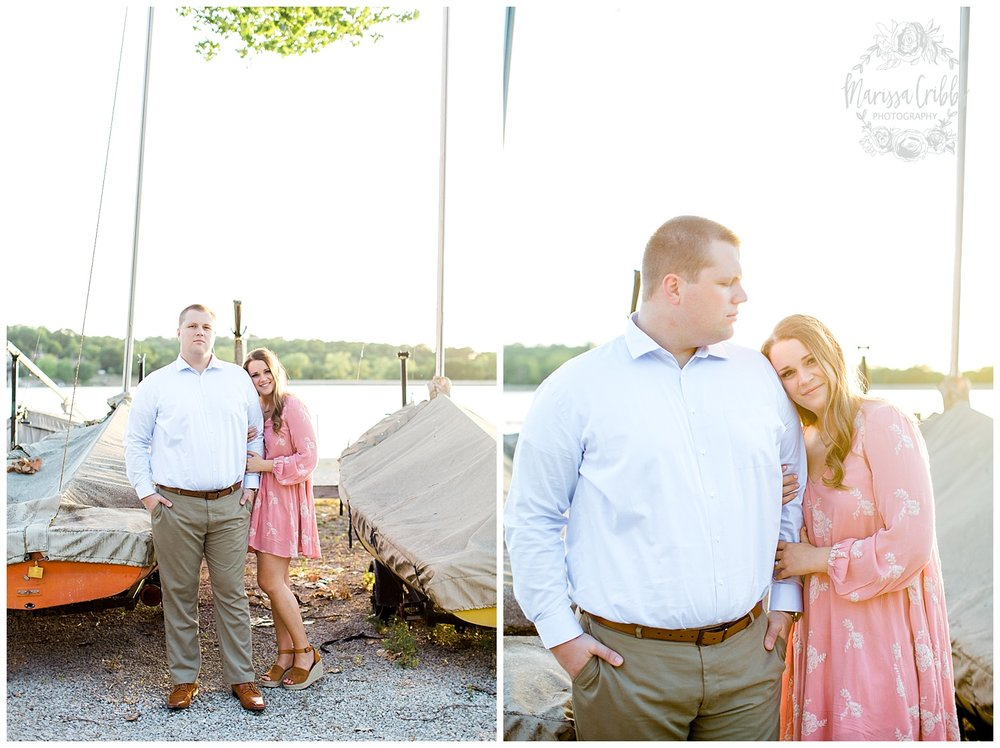 Morgan & Ryan Engaged | Lake Quivira Engagement Photography | Marissa Cribbs Photography_1553.jpg
