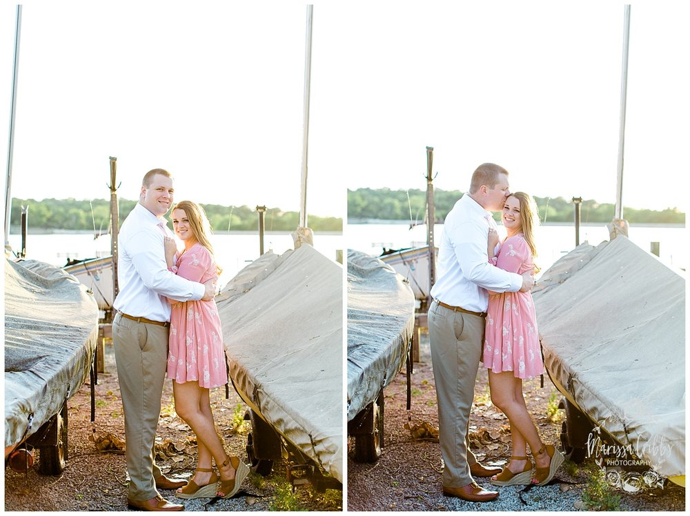 Morgan & Ryan Engaged | Lake Quivira Engagement Photography | Marissa Cribbs Photography_1551.jpg
