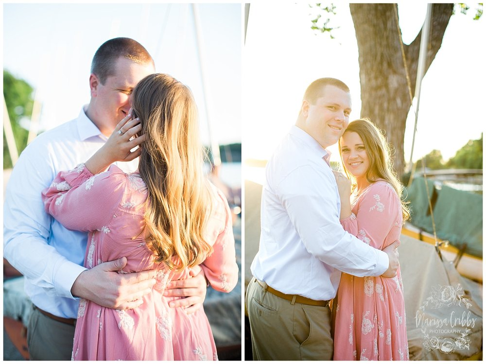Morgan & Ryan Engaged | Lake Quivira Engagement Photography | Marissa Cribbs Photography_1554.jpg
