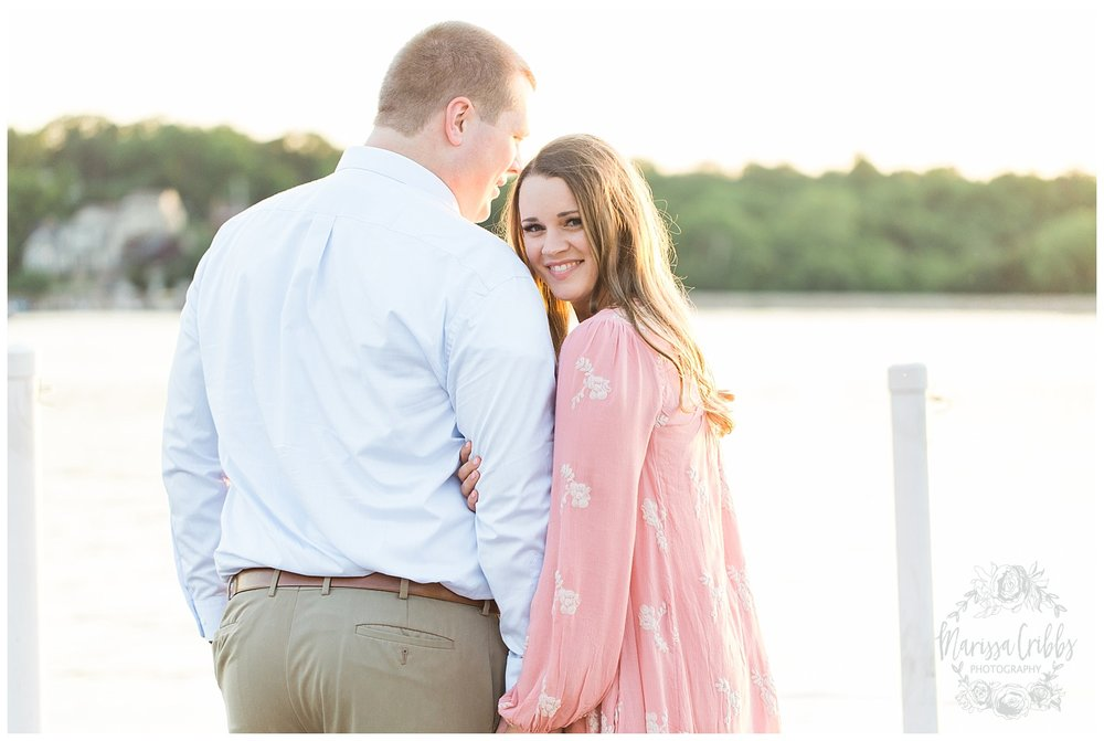 Morgan & Ryan Engaged | Lake Quivira Engagement Photography | Marissa Cribbs Photography_1559.jpg
