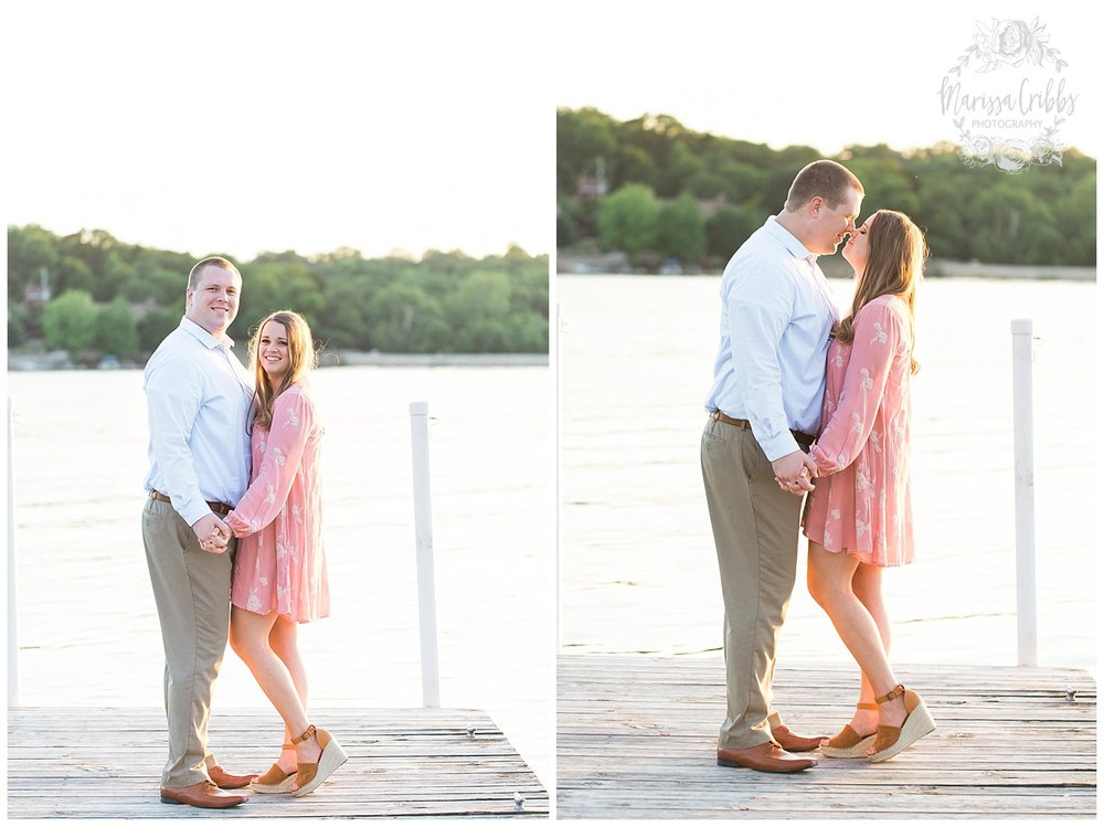 Morgan & Ryan Engaged | Lake Quivira Engagement Photography | Marissa Cribbs Photography_1558.jpg