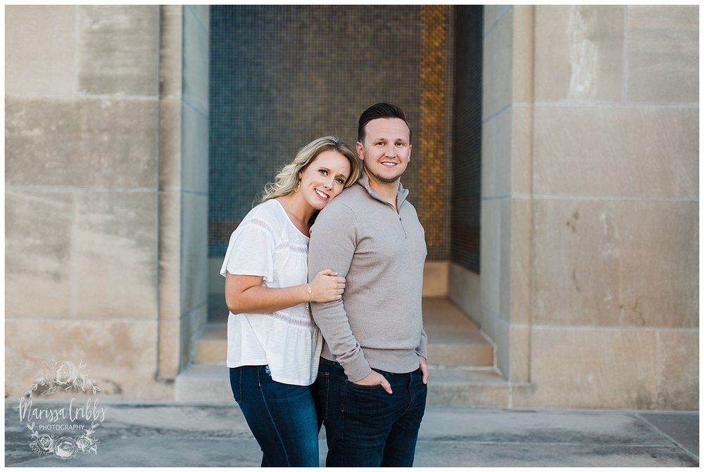 JACLYN & CHASE ENGAGEMENT | KC LIBERTY MEMORIAL ENGAGEMENT | UNION STATION | MARISSA CRIBBS PHOTOGRAPHY_3314.jpg