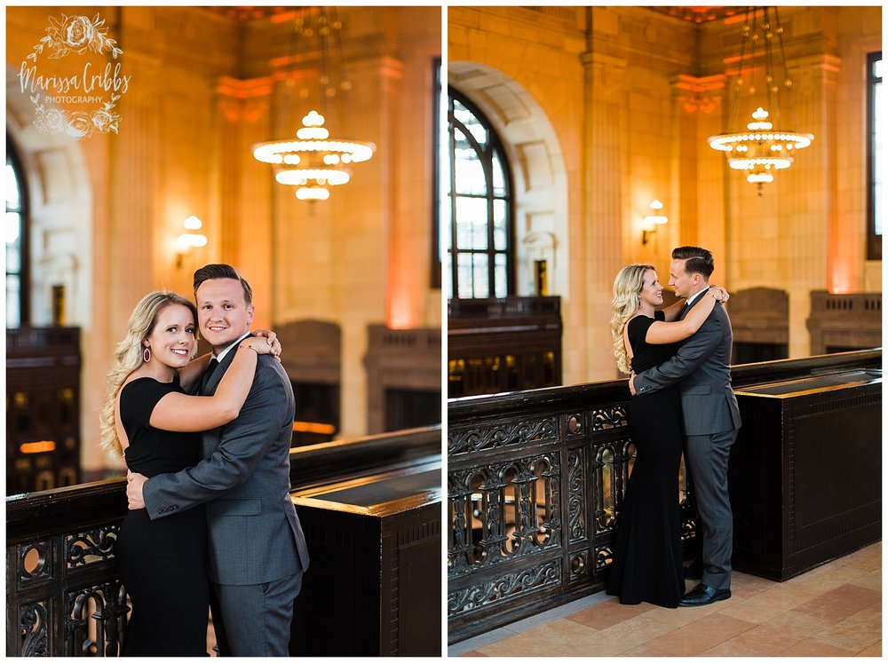 JACLYN & CHASE ENGAGEMENT | KC LIBERTY MEMORIAL ENGAGEMENT | UNION STATION | MARISSA CRIBBS PHOTOGRAPHY_3315.jpg