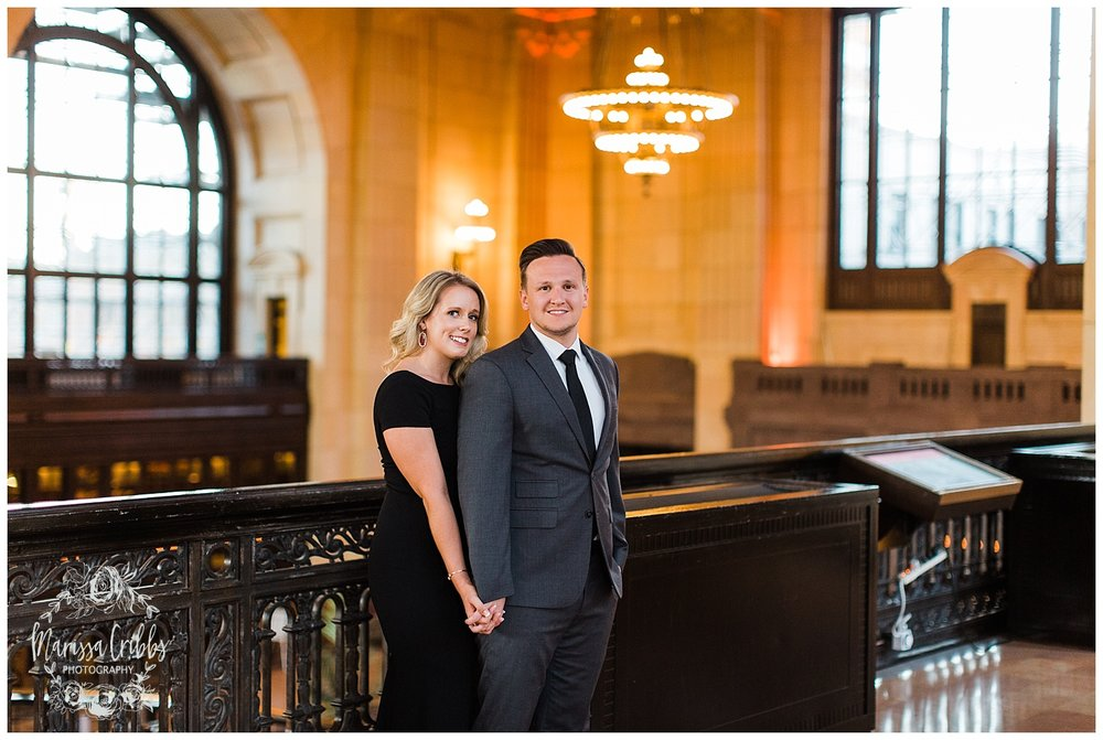 JACLYN & CHASE ENGAGEMENT | KC LIBERTY MEMORIAL ENGAGEMENT | UNION STATION | MARISSA CRIBBS PHOTOGRAPHY_3317.jpg