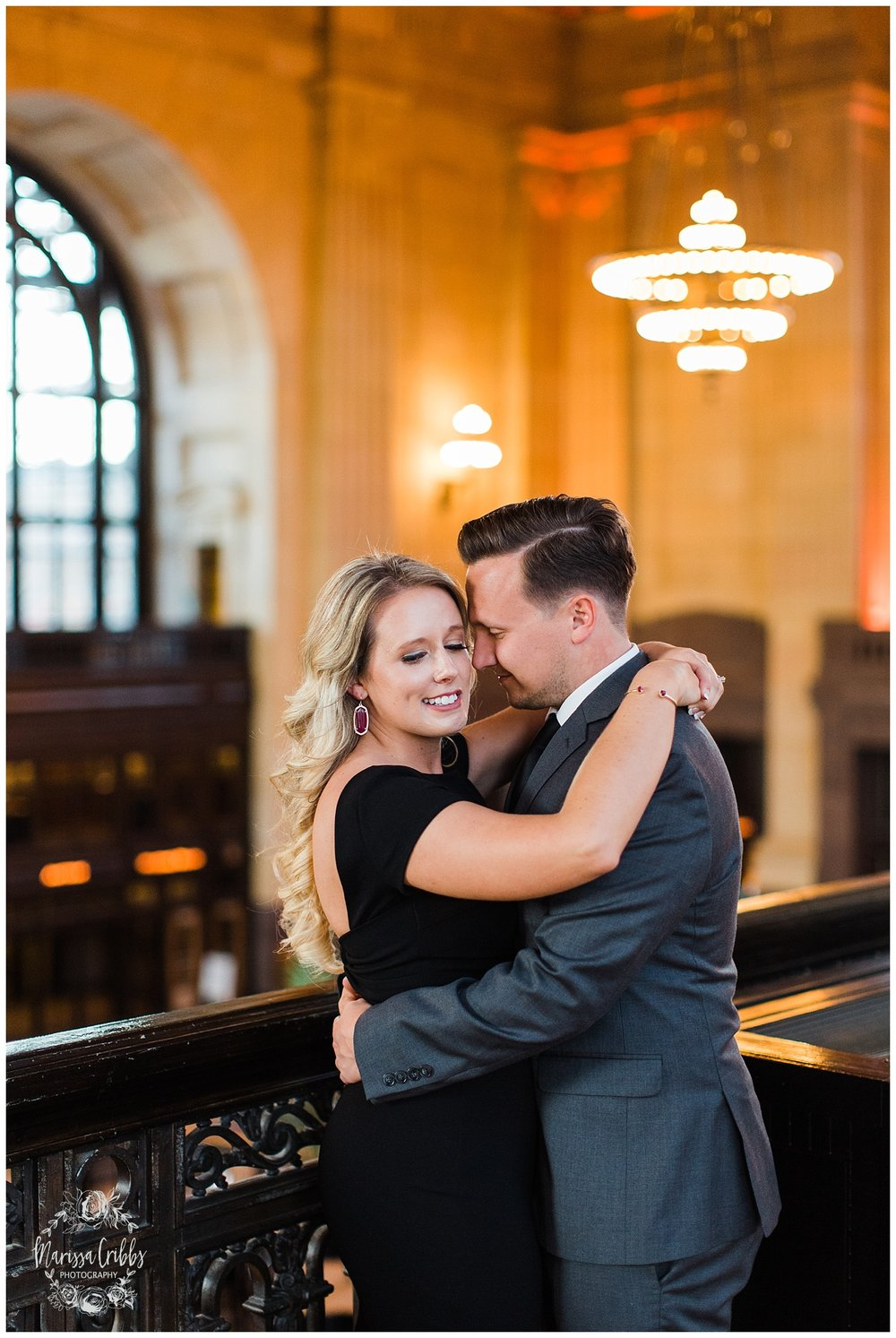JACLYN & CHASE ENGAGEMENT | KC LIBERTY MEMORIAL ENGAGEMENT | UNION STATION | MARISSA CRIBBS PHOTOGRAPHY_3316.jpg