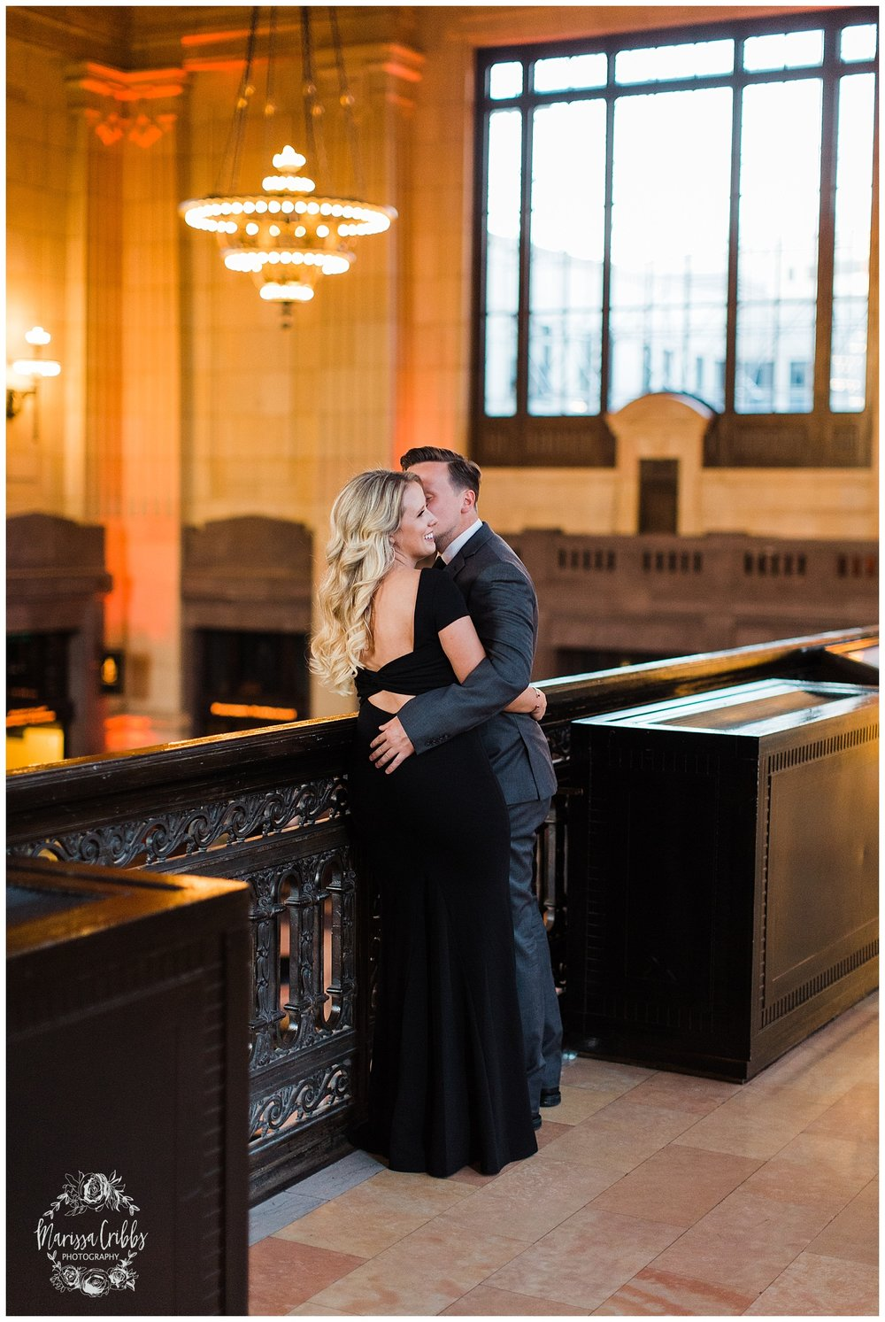 JACLYN & CHASE ENGAGEMENT | KC LIBERTY MEMORIAL ENGAGEMENT | UNION STATION | MARISSA CRIBBS PHOTOGRAPHY_3319.jpg