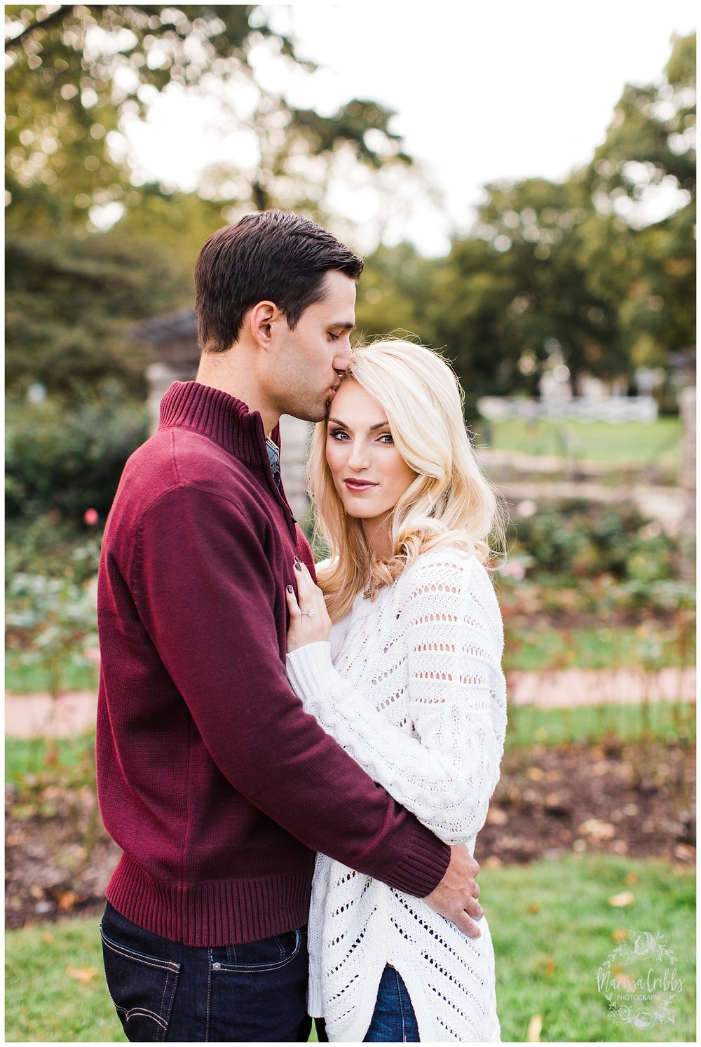 CLOE & GABE LIBERTY MEMORIAL ENGAGEMENT | MARISSA CRIBBS PHOTOGRAPHY | LOOSE PARK ENGAGEMENT_3444.jpg