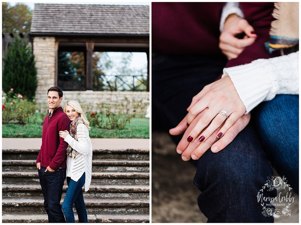 CLOE & GABE LIBERTY MEMORIAL ENGAGEMENT | MARISSA CRIBBS PHOTOGRAPHY | LOOSE PARK ENGAGEMENT_3447.jpg