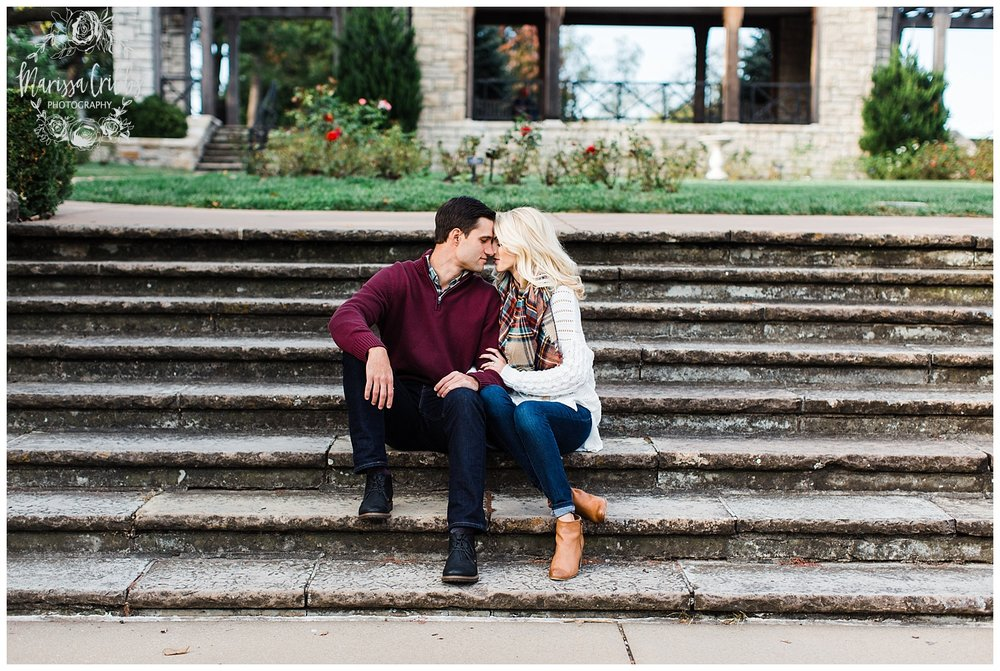 CLOE & GABE LIBERTY MEMORIAL ENGAGEMENT | MARISSA CRIBBS PHOTOGRAPHY | LOOSE PARK ENGAGEMENT_3451.jpg