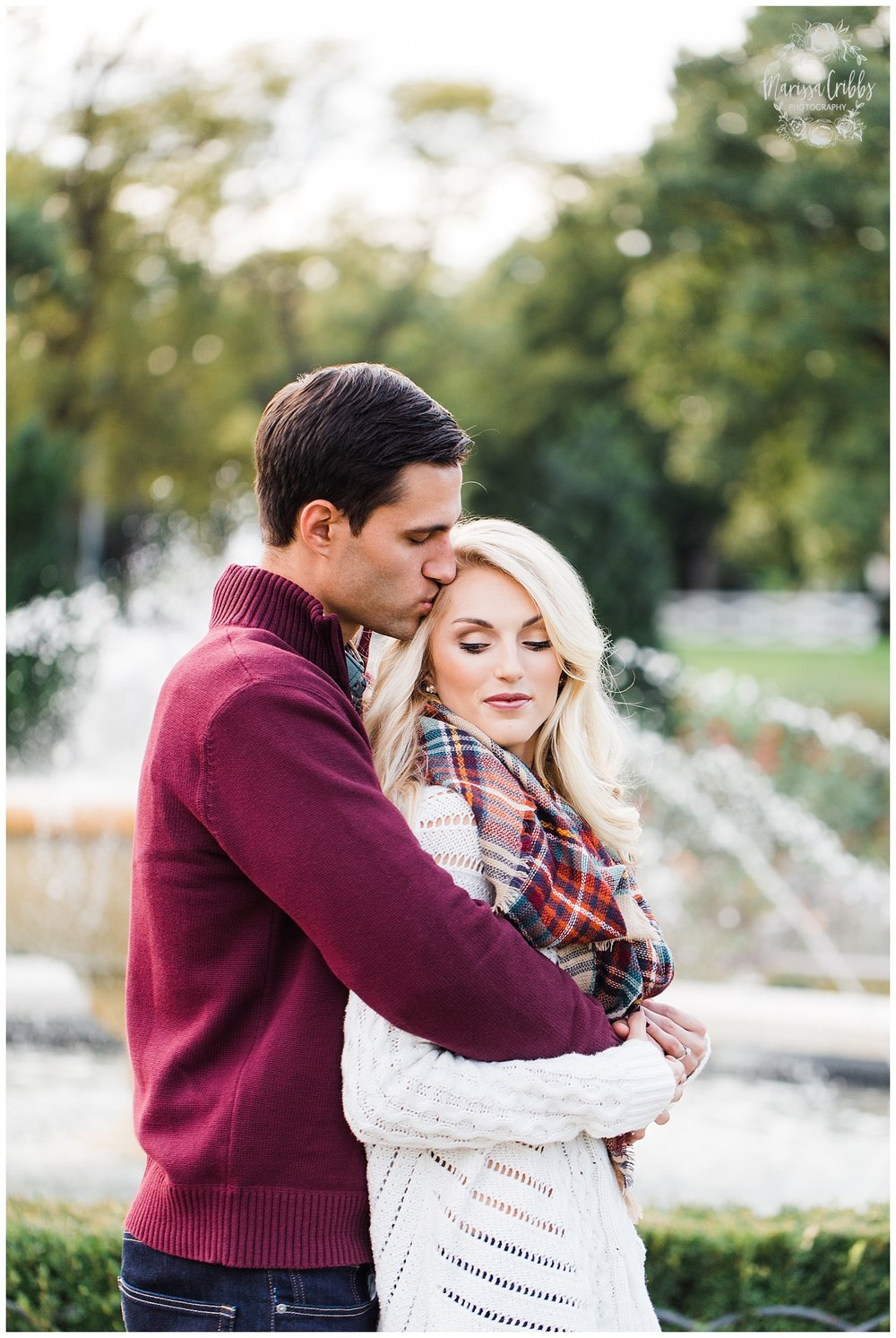 CLOE & GABE LIBERTY MEMORIAL ENGAGEMENT | MARISSA CRIBBS PHOTOGRAPHY | LOOSE PARK ENGAGEMENT_3456.jpg