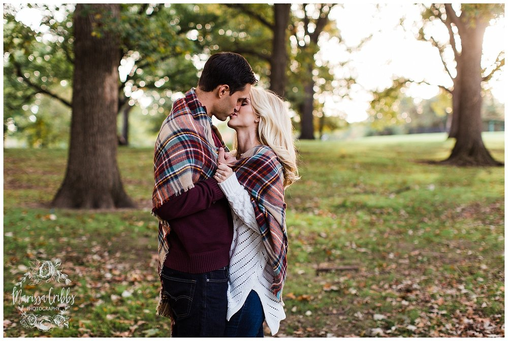 CLOE & GABE LIBERTY MEMORIAL ENGAGEMENT | MARISSA CRIBBS PHOTOGRAPHY | LOOSE PARK ENGAGEMENT_3460.jpg