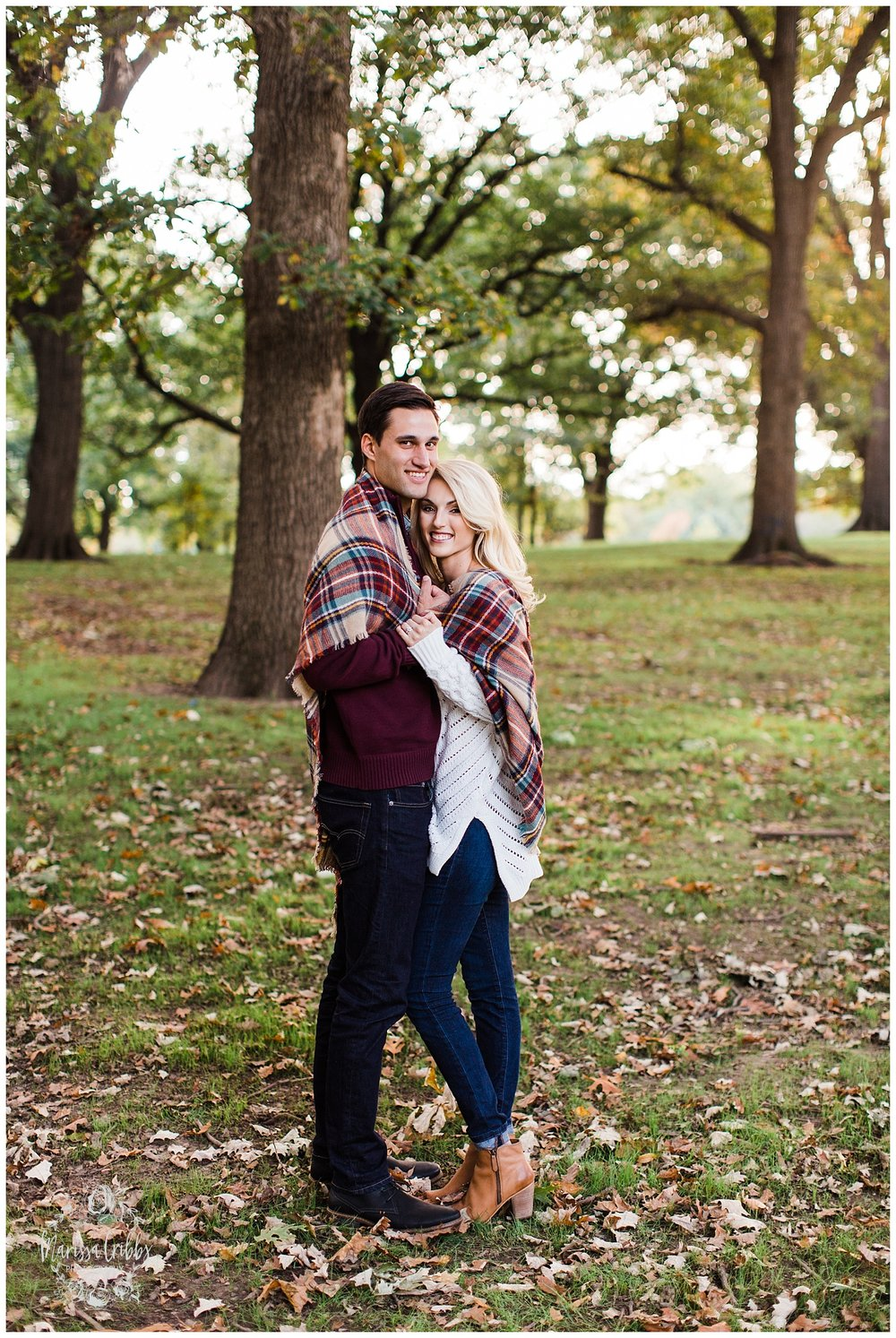 CLOE & GABE LIBERTY MEMORIAL ENGAGEMENT | MARISSA CRIBBS PHOTOGRAPHY | LOOSE PARK ENGAGEMENT_3461.jpg