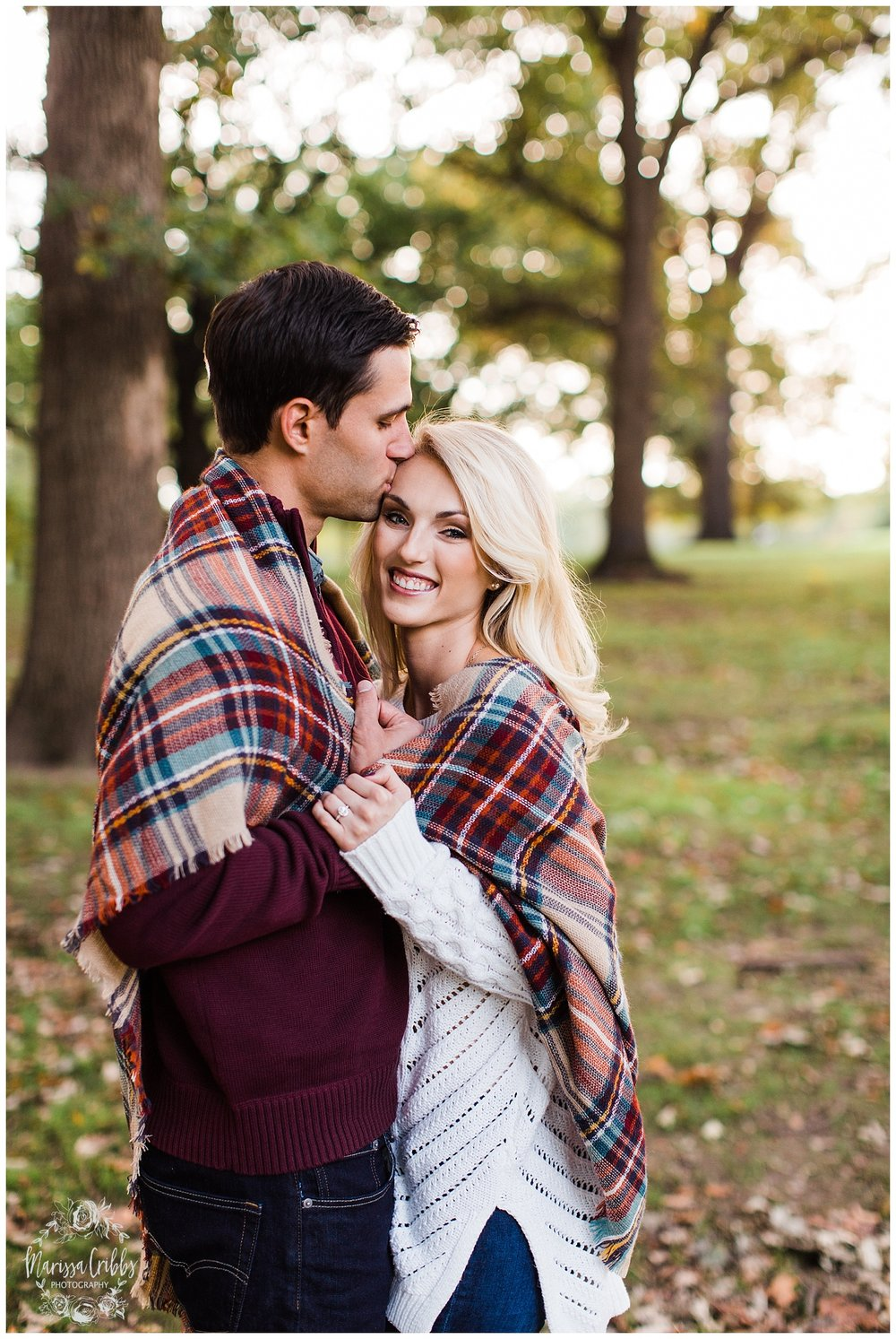 CLOE & GABE LIBERTY MEMORIAL ENGAGEMENT | MARISSA CRIBBS PHOTOGRAPHY | LOOSE PARK ENGAGEMENT_3462.jpg