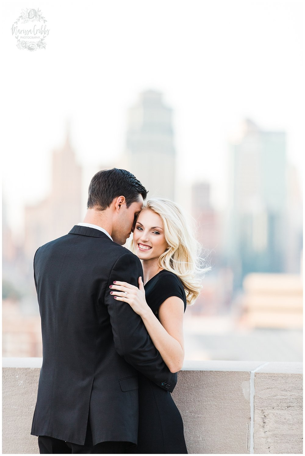 CLOE & GABE LIBERTY MEMORIAL ENGAGEMENT | MARISSA CRIBBS PHOTOGRAPHY | LOOSE PARK ENGAGEMENT_3466.jpg