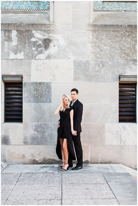 CLOE & GABE LIBERTY MEMORIAL ENGAGEMENT | MARISSA CRIBBS PHOTOGRAPHY | LOOSE PARK ENGAGEMENT_3469.jpg