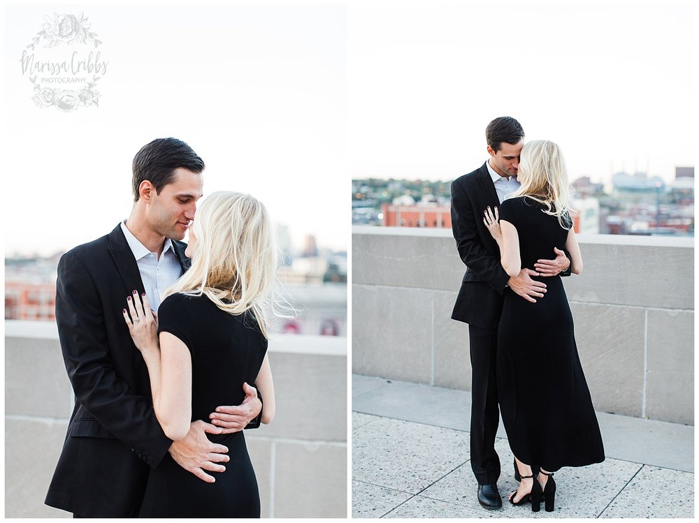 CLOE & GABE LIBERTY MEMORIAL ENGAGEMENT | MARISSA CRIBBS PHOTOGRAPHY | LOOSE PARK ENGAGEMENT_3476.jpg