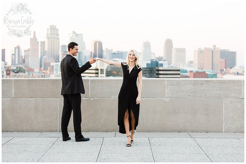 CLOE & GABE LIBERTY MEMORIAL ENGAGEMENT | MARISSA CRIBBS PHOTOGRAPHY | LOOSE PARK ENGAGEMENT_3481.jpg