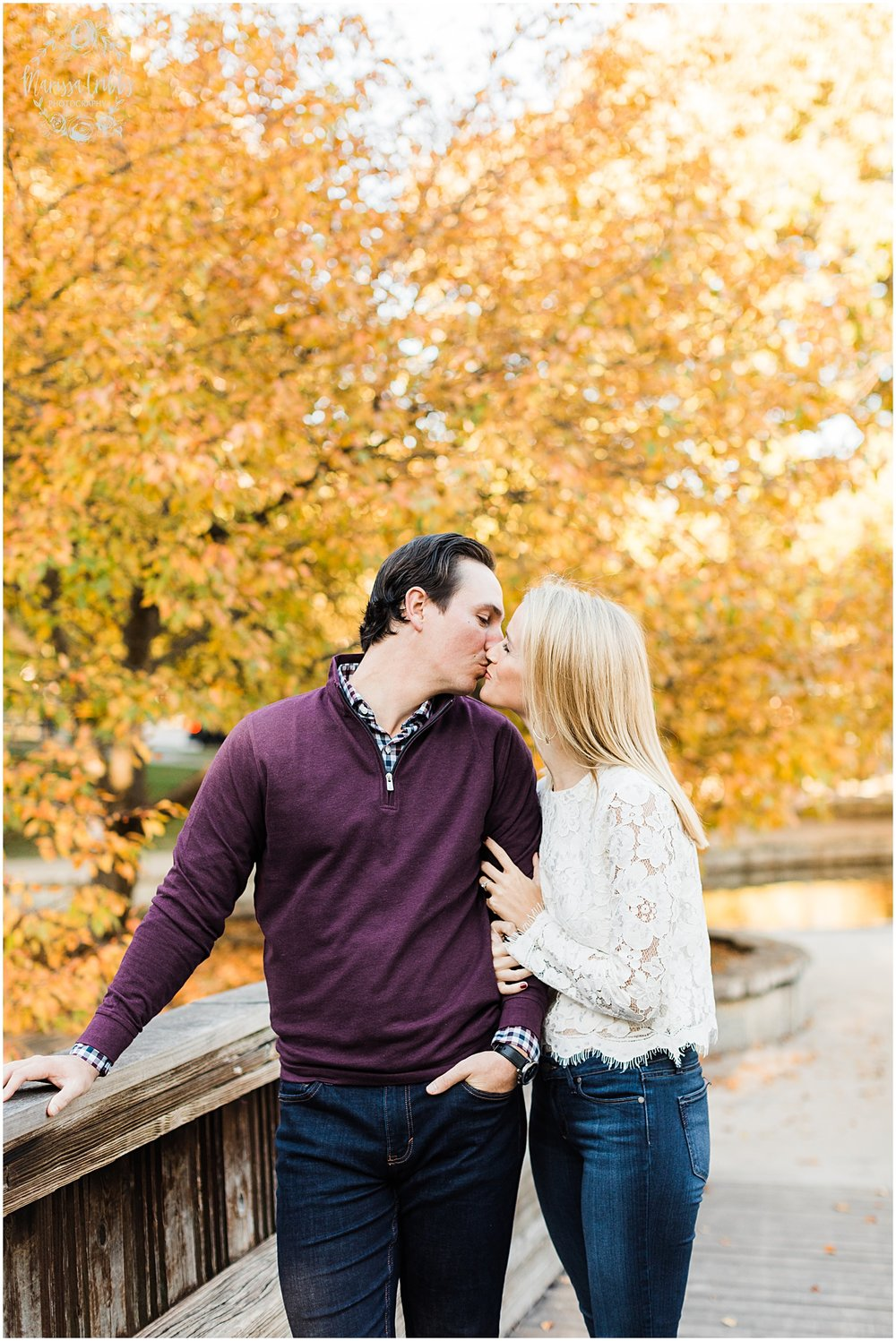 HALEY & CHASE ENGAGED LOOSE PARK & NELSON ATKINS | FALL ENGAGEMENT PHOTOS | MARISSA CRIBBS PHOTOGRAPHY_6850.jpg